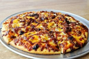 """Boss' Pizza & Chicken - """"BBQ Beef"""" Specialty Pizza"""
