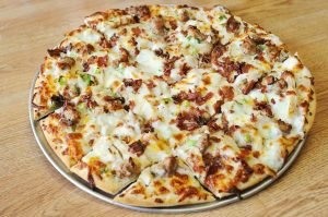 "Boss' Pizza & Chicken - The ""Chicken Alfredo"" Specialty Pizza"