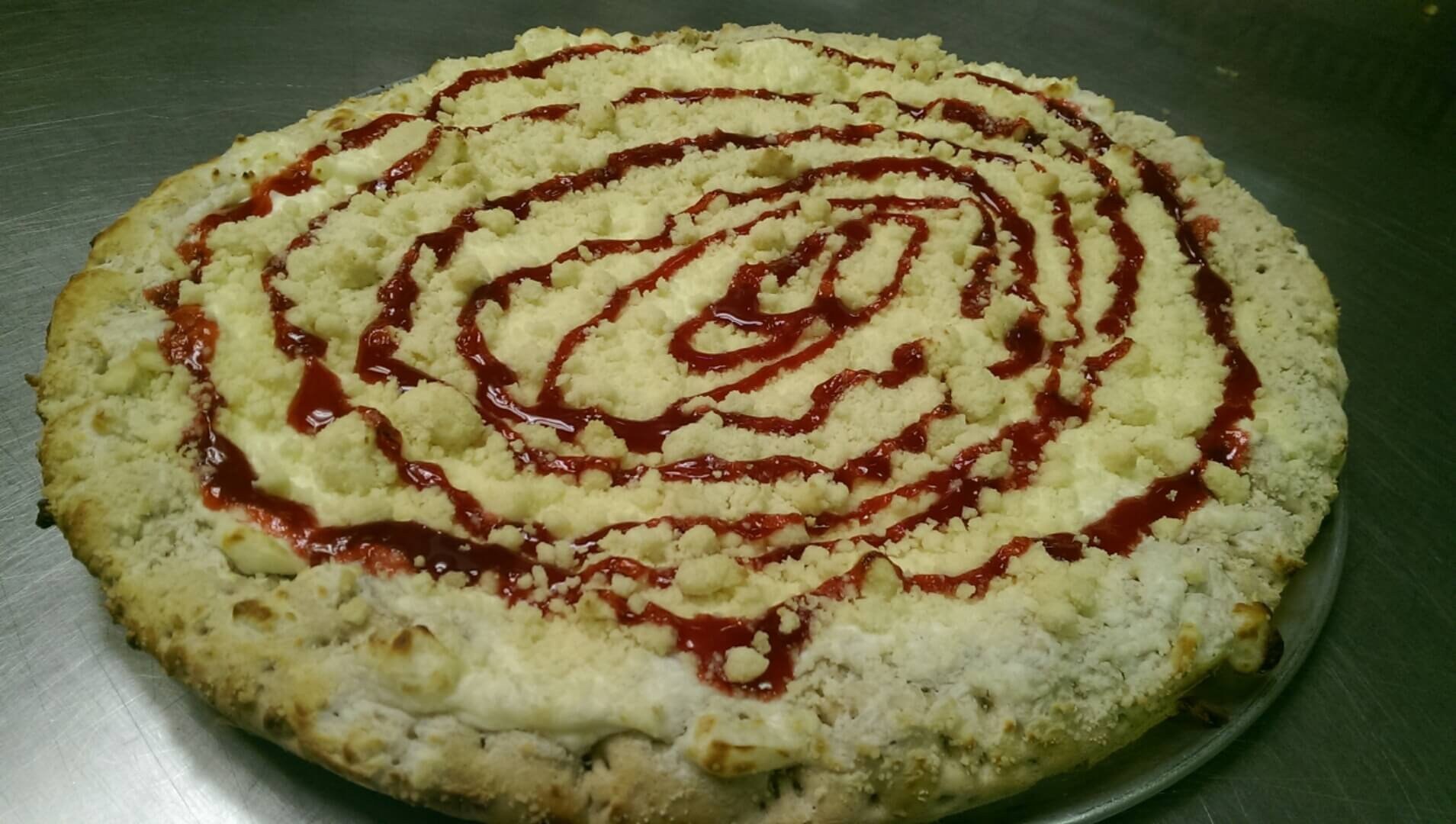 Boss' Pizza & Chicken - Raspberry Cheesecake Pizza