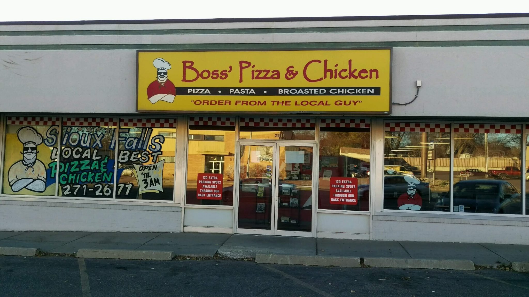 Boss' Pizza & Chicken - Central Sioux Falls