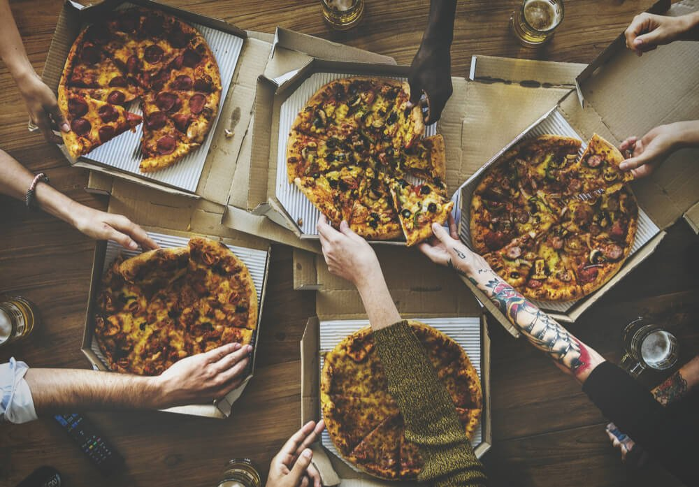 boss pizza and chicken birthday parties